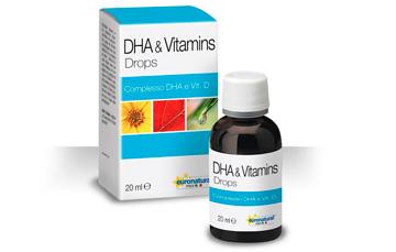 DHA and vitamins drops