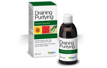 Draining and purifying drink