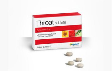Throat tablets
